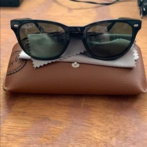 RayBan sunglasses. New with case and cloth.